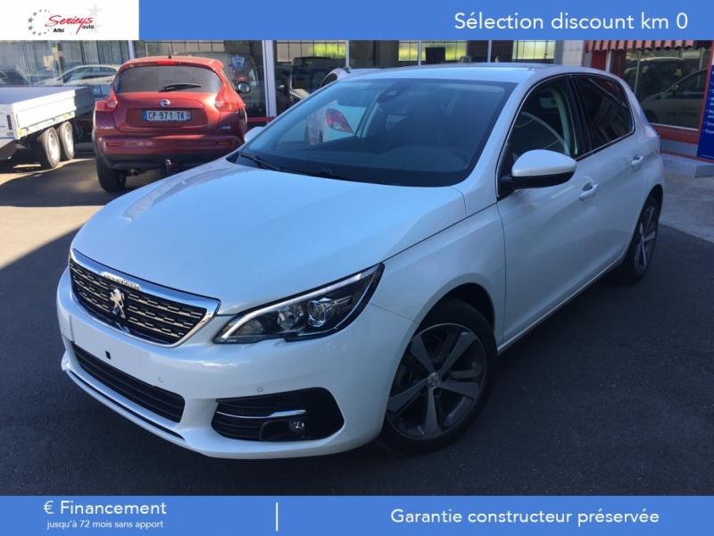 Photo 1 de l'offre de PEUGEOT 308 Allure 1.2 PureTech 130 Camera AR GPS à 19790€ chez Garage Serieys Auto