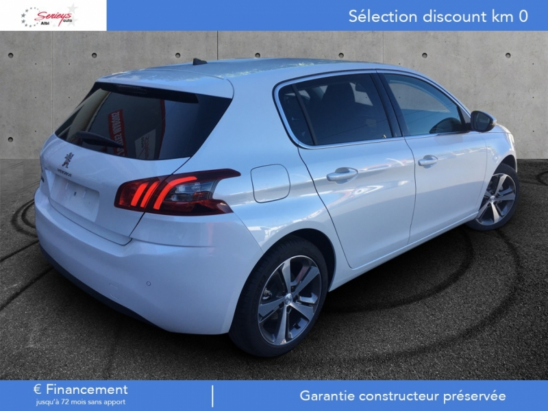 Photo 10 de l'offre de PEUGEOT 308 Allure 1.2 PureTech 130 Camera AR GPS à 19790€ chez Garage Serieys Auto