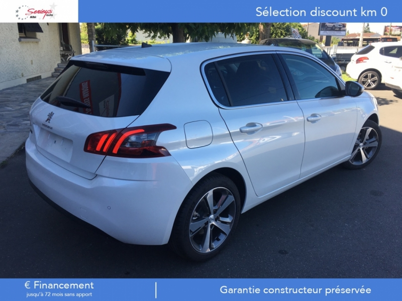 Photo 16 de l'offre de PEUGEOT 308 Allure 1.2 PureTech 130 Camera AR GPS à 19790€ chez Garage Serieys Auto