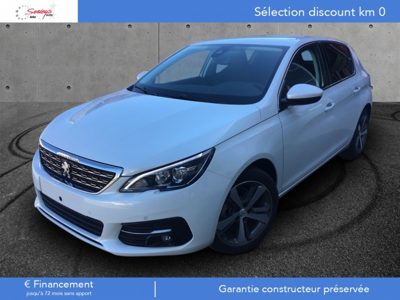 Photo 1 de l'offre de PEUGEOT 308 Allure 1.5 BlueHDi 130 Camera ar JA17 à 21400€ chez Garage Serieys Auto