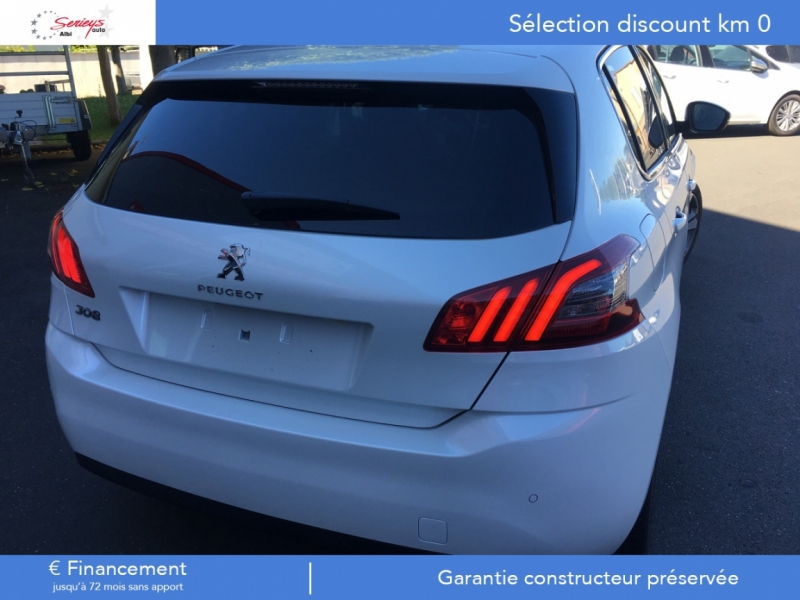 Photo 12 de l'offre de PEUGEOT 308 Allure 1.5 BlueHDi 130 Camera ar JA17 à 21400€ chez Garage Serieys Auto