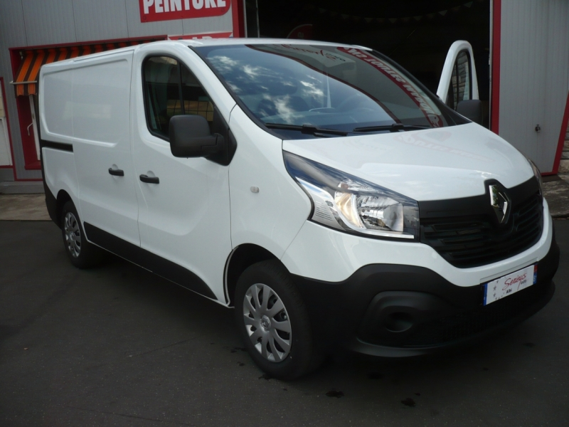 Renault Trafic Fg Grd Confort 1.6 dCi 125 L1H1 GPS Diesel Blanc Neuf à vendre