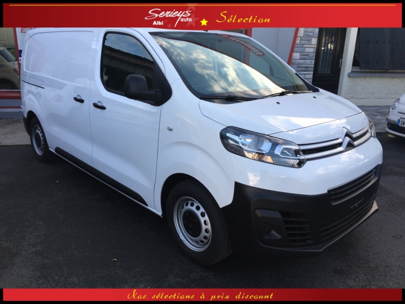 Photo 1 de l'offre de CITROEN Jumpy Fg 1.6 BlueHDi 115 Business GPS+Cam à 21990€ chez Garage Serieys Auto