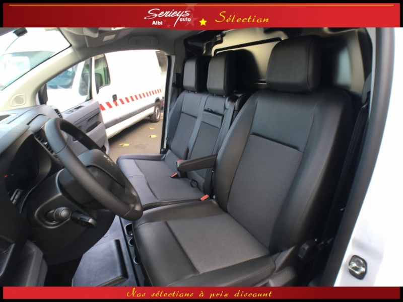 Photo 5 de l'offre de CITROEN Jumpy Fg 1.6 BlueHDi 115 Business GPS+Cam à 21990€ chez Garage Serieys Auto