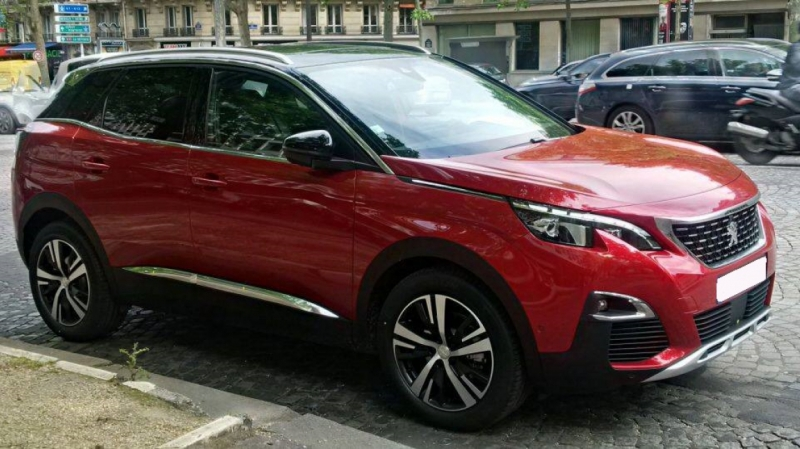 Peugeot 3008 GT Line BlueHDi 130 Hayon Moto+Camera Diesel Rouge Ultimate Neuf à vendre