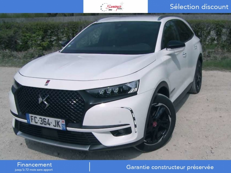 Ds 7 CROSSBACK Grand Chic BHDI 180 EAT8 Diesel Blanc Banquise Neuf à vendre