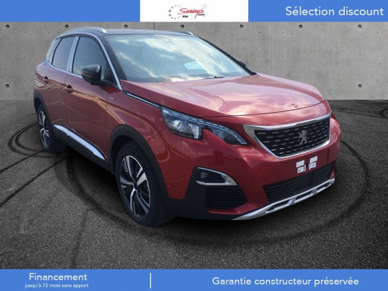 Photo 1 de l'offre de PEUGEOT 3008 Allure PureTech 130 EAT8 Hayon Moto à 30800€ chez Garage Serieys Auto