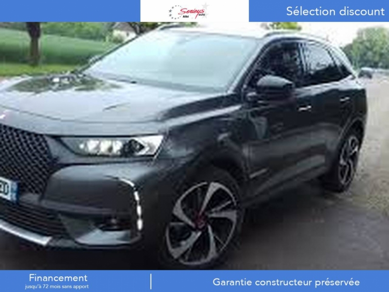 Ds 7 CROSSBACK Grand Chic BlueHDi 180 EAT8 Diesel Gris Platine Neuf à vendre