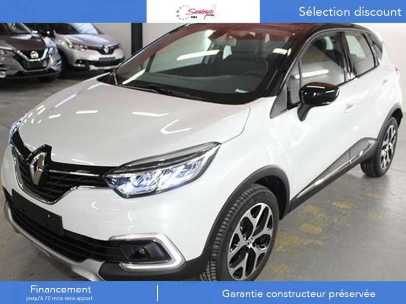 Photo 3 de l'offre de RENAULT Captur Intens+ DCi 90 +Rlink +Pack City + à 18000€ chez Garage Serieys Auto