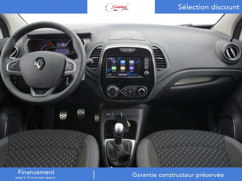 Photo 4 de l'offre de RENAULT Captur Intens+ DCi 90 +Rlink +Pack City + à 18000€ chez Garage Serieys Auto