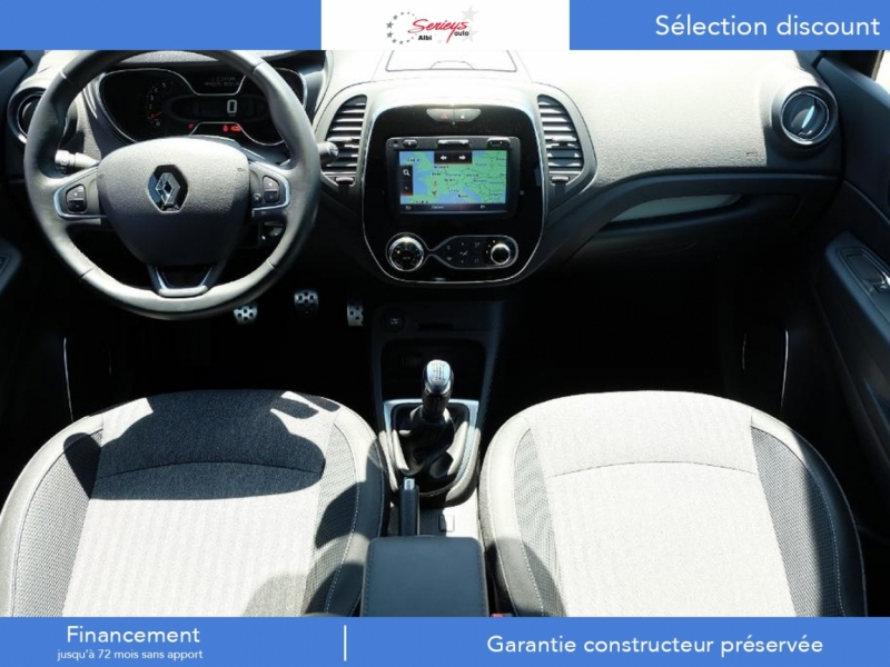 Photo 13 de l'offre de RENAULT Captur Intens+ DCi 90 +Rlink +Pack City + à 18000€ chez Garage Serieys Auto