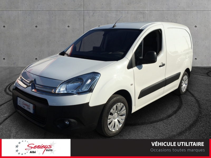Photo 7 de l'offre de CITROEN BERLINGO VU Business 1.6 EHDi 90 ETG6 GPS à 7800€ chez Garage Serieys Auto