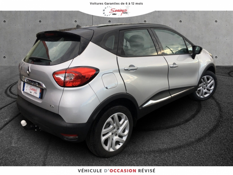 Photo 7 de l'offre de RENAULT Captur 0.9 TCe 90 Intens Camera AR + JA16 à 13980€ chez Garage Serieys Auto