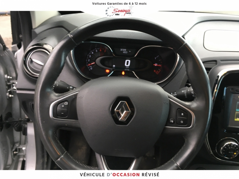 Photo 11 de l'offre de RENAULT Captur 0.9 TCe 90 Intens Camera AR + JA16 à 13980€ chez Garage Serieys Auto