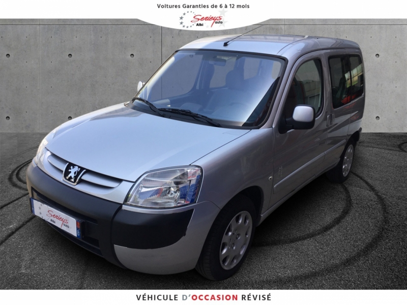 Peugeot PARTNER TEPEE Totem 1.6 HDi 90 Outdoor Diesel GRIS ALU Occasion à vendre