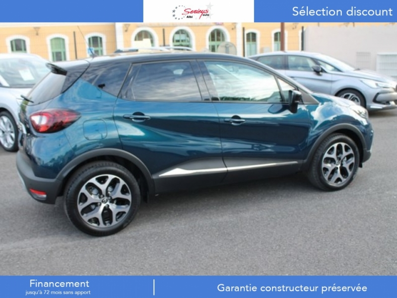 Photo 4 de l'offre de RENAULT Captur Intens+ TCe 130+Rlink+Pack City+ à 18400€ chez Garage Serieys Auto