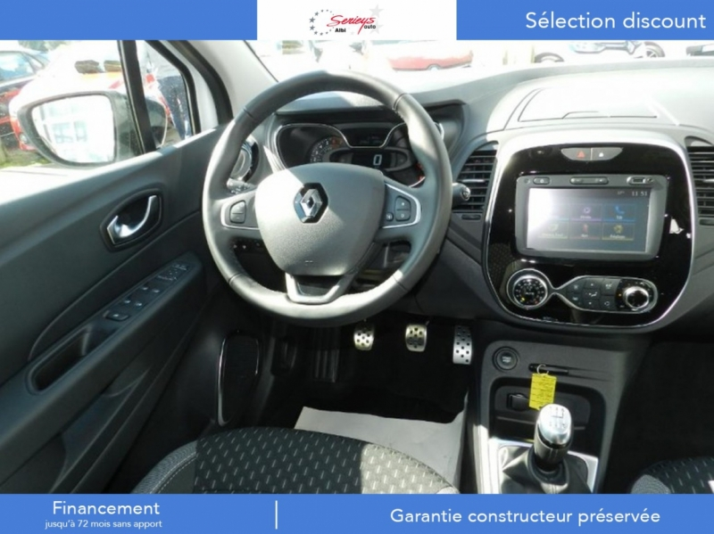 Photo 11 de l'offre de RENAULT Captur Intens+ TCe 130+Rlink+Pack City+ à 18400€ chez Garage Serieys Auto