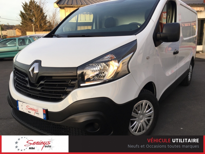 Renault TRAFIC FG Grd Confort DCI 90 GPS+Attelage Diesel BLANC Occasion à vendre