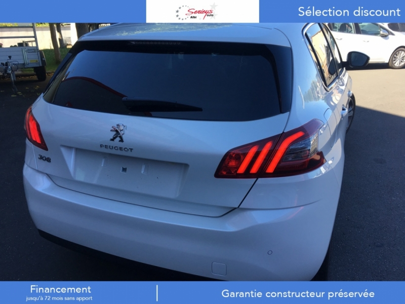 Photo 9 de l'offre de PEUGEOT 308 Allure BlueHDi 130 Camera AR+JA17 Ribi à 21200€ chez Garage Serieys Auto