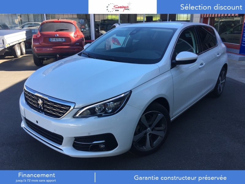 Photo 13 de l'offre de PEUGEOT 308 Allure BlueHDi 130 Camera AR+JA17 Ribi à 21200€ chez Garage Serieys Auto