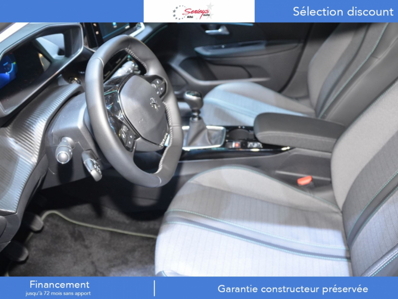 Photo 2 de l'offre de PEUGEOT 208 Allure Pack PureTech 100 CAMERA AR+JA à 18980€ chez Garage Serieys Auto