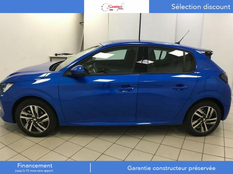 Photo 3 de l'offre de PEUGEOT 208 Allure Pack PureTech 100 CAMERA AR+JA à 18980€ chez Garage Serieys Auto