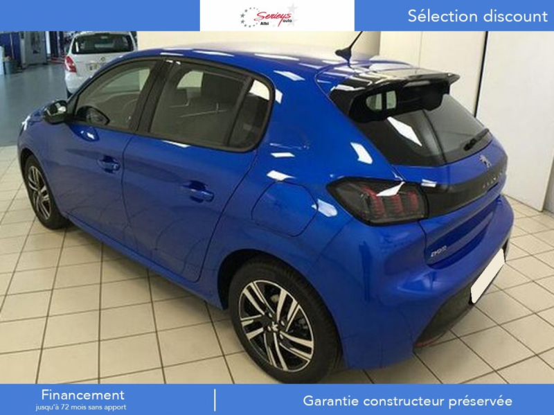 Photo 6 de l'offre de PEUGEOT 208 Allure Pack PureTech 100 CAMERA AR+JA à 18980€ chez Garage Serieys Auto