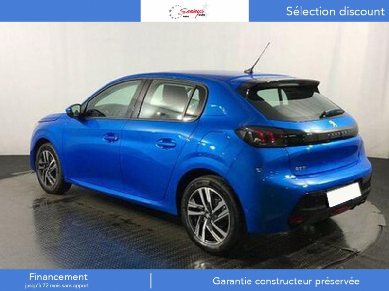 Photo 9 de l'offre de PEUGEOT 208 Allure Pack PureTech 100 CAMERA AR+JA à 18980€ chez Garage Serieys Auto