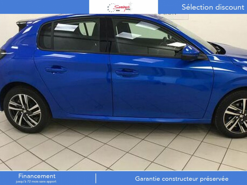 Photo 10 de l'offre de PEUGEOT 208 Allure Pack PureTech 100 CAMERA AR+JA à 18980€ chez Garage Serieys Auto