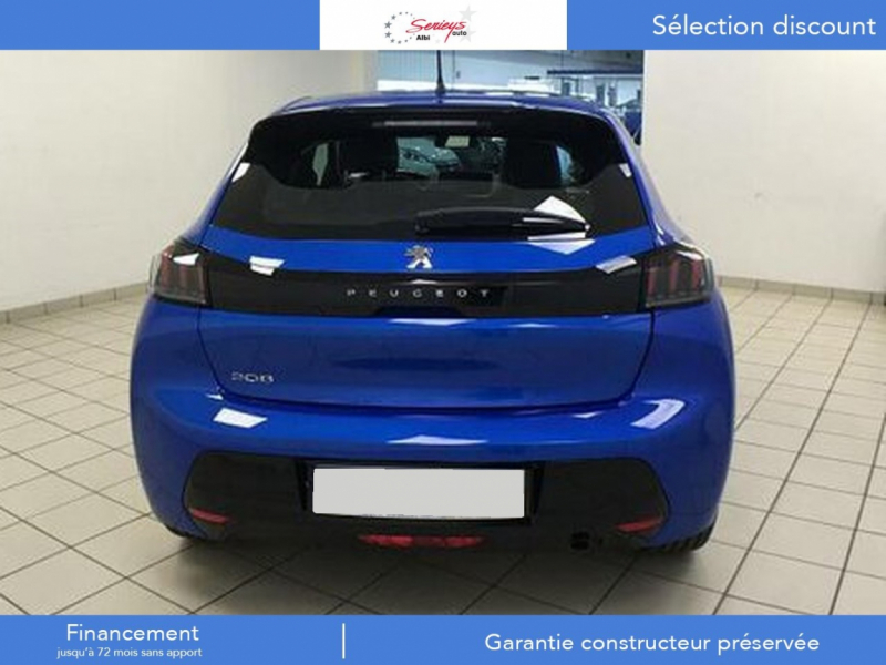 Photo 15 de l'offre de PEUGEOT 208 Allure Pack PureTech 100 CAMERA AR+JA à 18980€ chez Garage Serieys Auto
