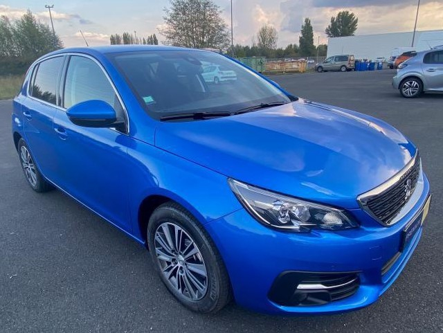 Peugeot 308 Allure Pack BlueHDI 130 LED+PK ASSIST Diesel BLEU VERTIGO METAL Neuf à vendre